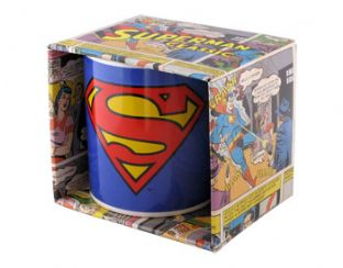 Superman 'Logo' Drinking Cup/Mug